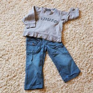 OshKosh B'gosh Matching Sets - OSHKOSH/CHILD. PLACE Toddler 24 month BUNDLE!